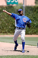 Manolin De Leon - 2009 Chicago Cubs spring training.Photo by:  Bill Mitchell/Four Seam Images