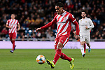 Girona FC's Douglas Luiz during Copa del Rey match between Real Madrid and Girona FC at Santiago Bernabeu Stadium in Madrid, Spain. January 24, 2019. (ALTERPHOTOS/A. Perez Meca)