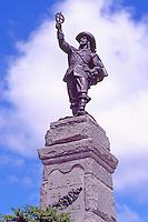 Samuel de Champlain Statue (1915), in the City of Ottawa, Ontario, Canada