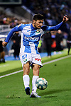 Oscar Rodriguez of CD Leganes during La Liga match between CD Leganes and Deportivo Alaves at Butarque Stadium in Leganes, Spain. February 29, 2020. (ALTERPHOTOS/A. Perez Meca)