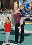 Melissa Joan Hart & her sons at the Warner Bros. Pictures World Premiere of Cats & Dogs Revenge of Kitty Galore held at The Grauman's Chinese Theatre in Hollywood, California on July 25,2010                                                                               © 2010 Debbie VanStory / Hollywood Press Agency