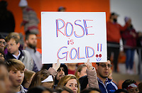 HOUSTON, TX - JANUARY 31: Fans of Rose Lavelle #16 of the United States during a game between Panama and USWNT at BBVA Stadium on January 31, 2020 in Houston, Texas.