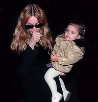 Madonna and daughter Lourdes Leon 1998<br /> Photo By John Barrett/PHOTOlink