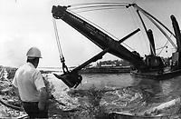 Toronto - Waterfront - Harbour Square - Construction<br /> <br /> Photo : Boris Spremo - Toronto Star archives - AQP