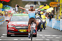 5th September 2020, Grand Colombier, France;  PETERS Nans (FRA) of AG2R LA MONDIALE during stage 8 of the 107th edition of the 2020 Tour de France cycling race, a stage of 191,5 kms with start in Lyon and finish in Grand Colombier