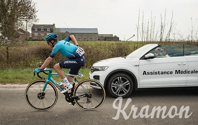 Jakob Fuglsang (DEN/Astana - Premier Tech)<br /> <br /> 85th La Flèche Wallonne 2021 (1.UWT)<br /> 1 day race from Charleroi to the Mur de Huy (BEL): 194km<br /> <br /> ©kramon