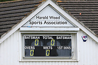 Harold Wood CC (batting) vs Brentwood CC, Shepherd Neame Essex League Cup Cricket at Harold Wood Park on 4th May 2019