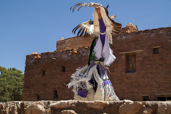 Navajo man performing an indigenous dance, South Rim in Grand Canyon National Park, Arizona . John offers private photo tours in Grand Canyon National Park and throughout Arizona, Utah and Colorado. Year-round.