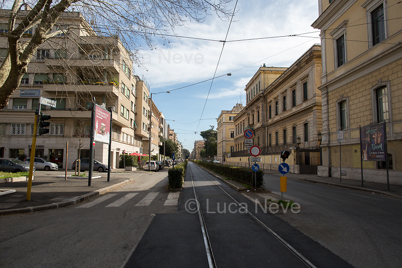 Viale Flaminio.<br />
