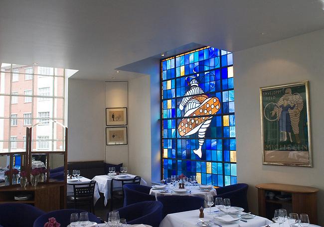 Interior, Bibendum Restaurant, London, UK