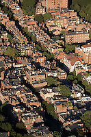 Aerial view, Beacon Hill, Boston, MA