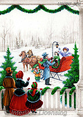 Randy, CHRISTMAS LANDSCAPES, WEIHNACHTEN WINTERLANDSCHAFTEN, NAVIDAD PAISAJES DE INVIERNO, paintings+++++,USRW395,#xl#