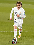 Real Madrid's Luka Modric during UEFA Champions League Round of 16 2nd leg match. March 16,2021.(ALTERPHOTOS/Acero)