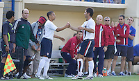 Charlie Davies comes in for Ante Razov. The USA defeated China, 4-1, in an international friendly at Spartan Stadium, San Jose, CA on June 2, 2007.