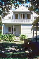Honolulu: New England Mission House, 1821. Photo '82.