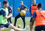 19.04.2019 Rangers training: Steven Gerrard