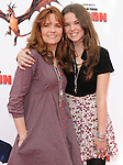 Lea Thompson & daughter at the Dreamwork Pictures' Premiere How to Train Your Dragon held at Gibson Universal in Universal City, California on March 21,2010                                                                   Copyright 2010  DVS / RockinExposures