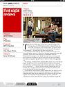 4000 Miles, Ustinov Studio, Theatre Royal Bath, The Times, 24.04.13.