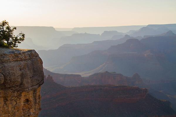 Sunset at Yavapi Point along the South Rim of Grand Canyon National Park, Arizona .  John offers private photo tours in Grand Canyon National Park and throughout Arizona, Utah and Colorado. Year-round.