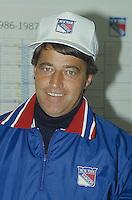Montreal (Qc) CANADA - 1988 File photo  - Michel Bergeron, NY Rangers coach