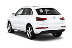 Car pictures of rear three quarter view of 2015 Audi Q3 Premium Plus 5 Door SUV angular rear