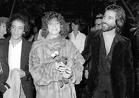 1978 FILE PHOTO<br /> New York City<br /> At Studio 54; co-owner Steve Rubell<br /> Rubell Barbara Streisand John Peters<br /> Photo by Adam Scull-PHOTOlink.net