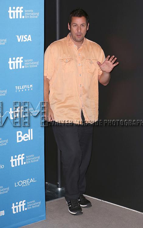 Adam Sandler during the 'Men, Woman & Children' photocall during the 2014 Toronto International Film Festival at the Tiff Bell Lightbox on September 6, 2014 in Toronto, Canada.