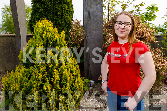 Kate O'Keeffe from Ballymac, who is a 5th year studentin Presentation Secondary School Castleisland and is one of just fifteen pupils to take part in Edna O'Brien Young Writers Bursary programme.