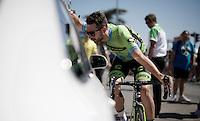 Nathan Haas (AUS/Cannondale-Garmin) before the stage<br /> <br /> stage 16: Bourg de Péage - Gap (201km)<br /> 2015 Tour de France