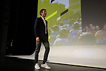 Stéphane Rossetto (FRA) introduced on stage at the Tour de France 2020 route presentation held in the Palais des Congrès de Paris (Porte Maillot), Paris, France. 15th October 2019.<br /> Picture: Eoin Clarke | Cyclefile<br /> <br /> All photos usage must carry mandatory copyright credit (© Cyclefile | Eoin Clarke)