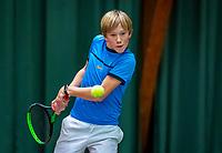 Wateringen, The Netherlands, December 4,  2019, De Rhijenhof , NOJK 14 and18 years, Lukas Gruben (NED)<br /> Photo: www.tennisimages.com/Henk Koster