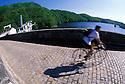 18/07/02 - ROCHEBUT - ALLIER - FRANCE - Barrage de ROCHEBUT, construit entre 1906 et 1909, il est le plus vieux barrage d Auvergne - Photo Jerome CHABANNE