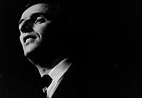 Gilles Vigneault dans les annes 70 ou fin des annes 60 (date inconnue)<br /> <br /> PHOTO : Alain Renaud<br />  - Agence Quebec Presse