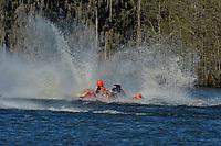 Frame 13: Serena Durr 96-F, Erin Pittman 6-H crash. (Outboard Hydroplanes)