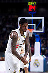 Real Madrid's Trey Thompkins during Euroligue match between Real Madrid and Zalgiris Kaunas at Wizink Center in Madrid, Spain. April 4, 2019.  (ALTERPHOTOS/Alconada)