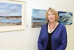 Artist Bernie Mullen with some of her work at the Opening of the Indigo Art Exhibion in the Laurence Centre...Photo NEWSFILE/Jenny Matthews.(Photo credit should read Jenny Matthews/NEWSFILE)....This Picture has been sent you under the condtions enclosed by:.Newsfile Ltd..The Studio,.Millmount Abbey,.Drogheda,.Co Meath..Ireland..Tel: +353(0)41-9871240.Fax: +353(0)41-9871260.GSM: +353(0)86-2500958.email: pictures@newsfile.ie.www.newsfile.ie.FTP: 193.120.102.198.