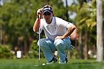 PALM BEACH GARDENS, FL. - Brett Quigley during final round play at the 2009 Honda Classic - PGA National Resort and Spa in Palm Beach Gardens, FL. on March 8, 2009.