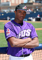 Akron Aeros Tony Sipp poses for a photo before an Eastern League game at Canal Park on April 15, 2006 in Akron, Ohio.  (Mike Janes/Four Seam Images)