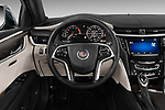 Driver's view of 2013 Cadillac XTS Platinum sedan