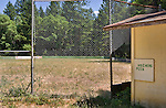Near the historic Oregon town of Wolf Creek, home of the Wolf Creek Inn, a county park, itself mostly abandoned, sports this long unused baseball diamond. Wolf Creek lies just off I-5 at exit 76.