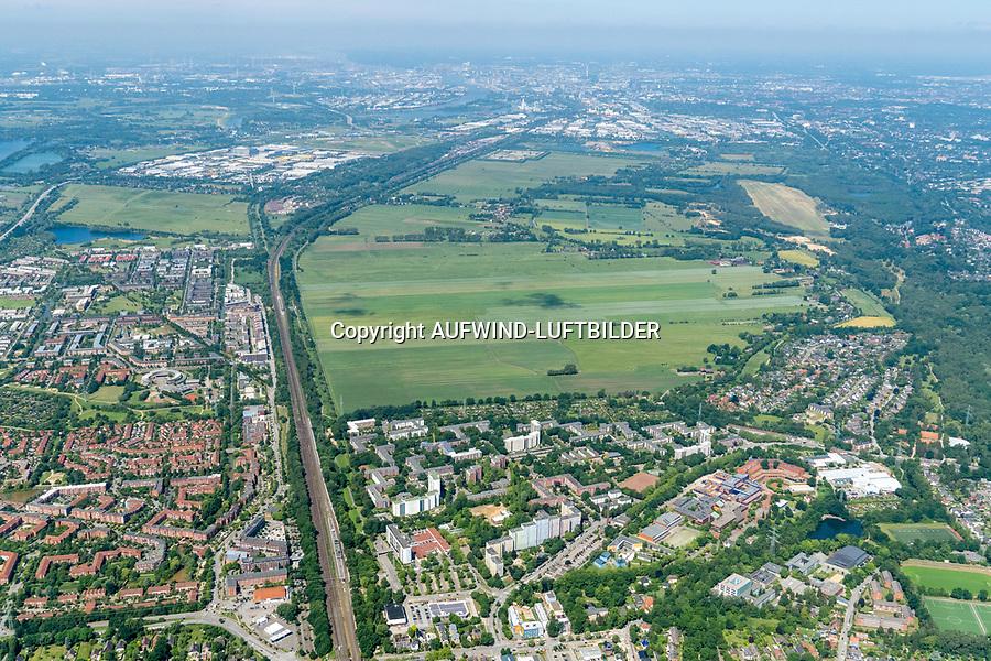 Oberbillwerder: EUROPA, DEUTSCHLAND, HAMBURG 15.06.2020: Oberbillwerder