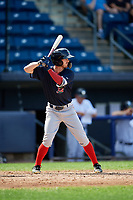 Lowell Spinners pinch hitter Dylan Hardy (17) at bat during a game against the Staten Island Yankees on August 22, 2018 at Richmond County Bank Ballpark in Staten Island, New York.  Staten Island defeated Lowell 10-4.  (Mike Janes/Four Seam Images)