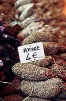 """Europe/France/Rhône-Alpes/73/Savoie/Vallée de Belleville/les Menuires: Saucissons de montagne de la boutique """"Le Gouter"""""""