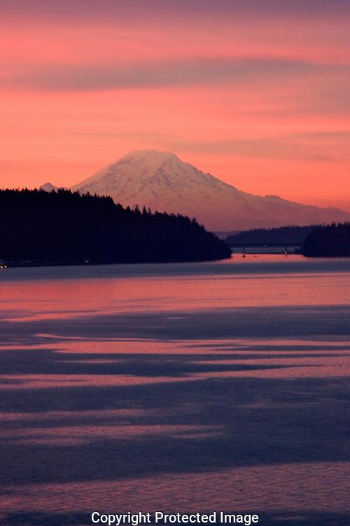 Mount Rainier at Dawn