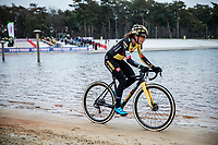 Marianne Vos (NED/Jumbo-Visma)<br /> <br /> Women's elite Race <br /> Zilvermeercross Mol (BEL) 2021<br /> <br /> ©Kramon