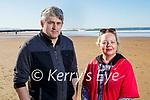 Enjoying a stroll in Ballybunion on Sunday, l to r: Edward Flynn and Elvina McDermott.