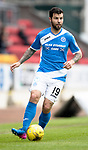 St Johnstone v Partick Thistle…13.05.17     SPFL    McDiarmid Park<br />Richie Foster<br />Picture by Graeme Hart.<br />Copyright Perthshire Picture Agency<br />Tel: 01738 623350  Mobile: 07990 594431