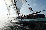 Training session on F18 before the Eurocat 2011, the great catamaran in Carnac, Brittany, France..Mischa Heemskerk.Bastiaan Tentij.F18 Cirrus R
