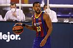 Liga ACB-ENDESA 2020/2021. Game: 26.<br /> FC Barcelona vs Casademont Zaragoza: 107-88.<br /> Cory Higgins.