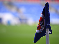 3rd October 2020; Madejski Stadium, Reading, Berkshire, England; English Football League Championship Football, Reading versus Watford; corner flag at Madejski Stadium